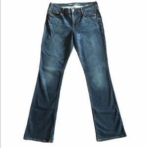 OLD NAVY woman's Mid-Rise Blue Jeans
